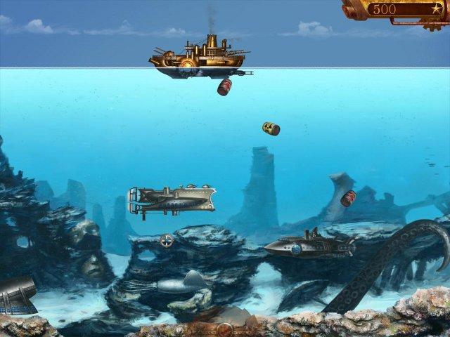 Фрагмент игры Адмирал Немо