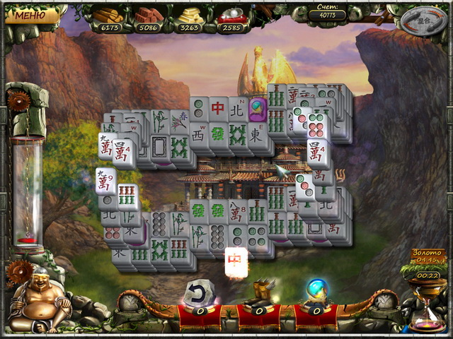 Фрагмент игры Век маджонга