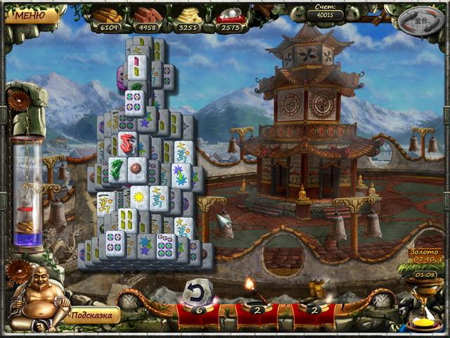 Изображение из игры Век маджонга