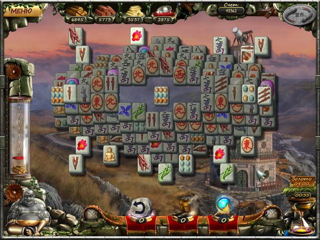 Настольные игра Век маджонга