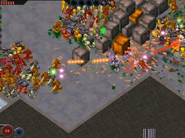 Фрагмент игры Алиен шутер. Начало вторжения