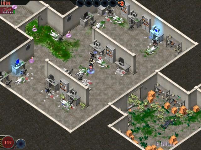 Изображение из игры Алиен шутер. Начало вторжения