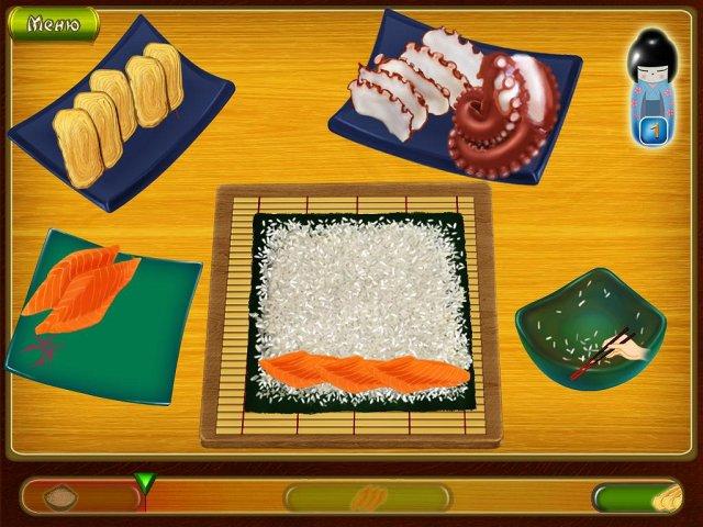 Игра Асами. Суши-бар