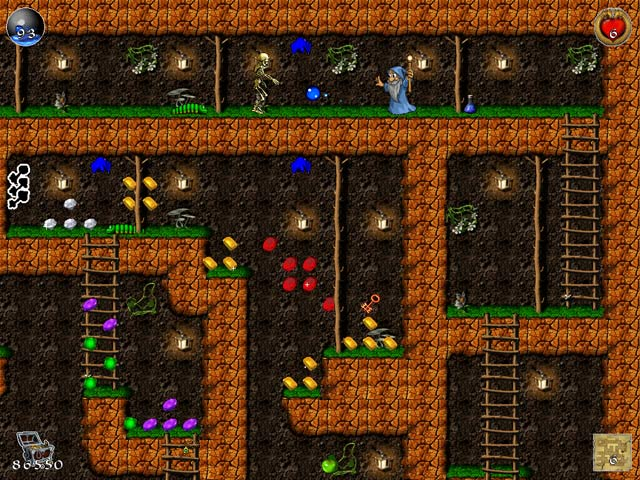 Изображение из игры Храбрые гномы. Назад за сокровищами!