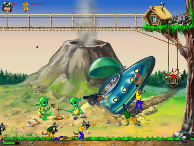 Изображение из игры Храбрый поросенок