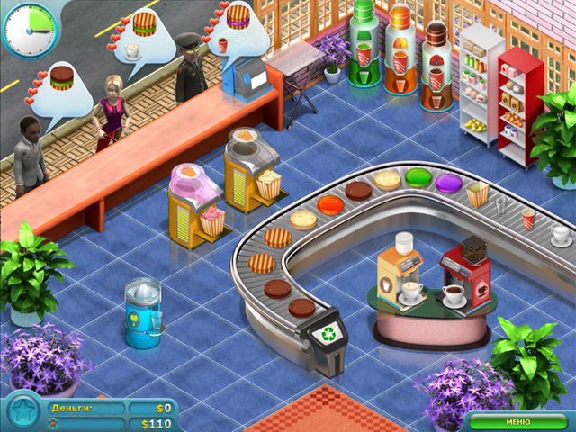 Изображение из игры Кекс шоп 2