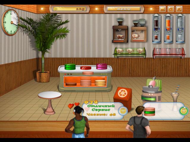 Фрагмент игры Кекс шоп