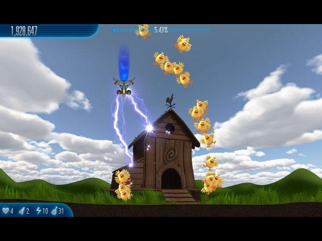 Изображение из игры Вторжение кур 5 Тёмный клюв