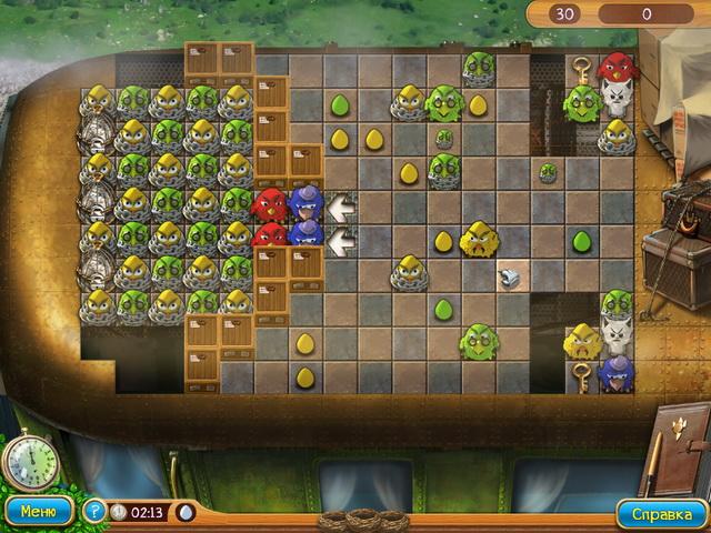 Изображение из игры Птичий переполох