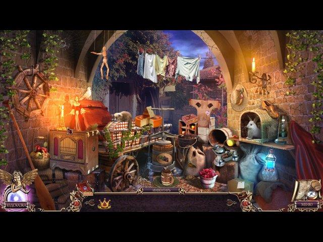 Фрагмент игры Бессмертные страницы Таинственная библиотека