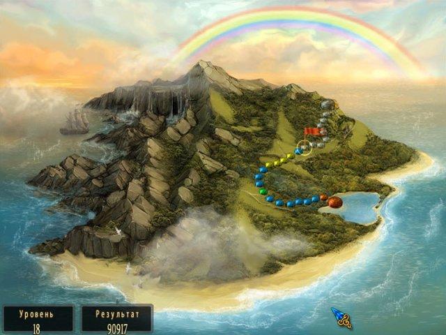 Шарики игра Сказочный остров