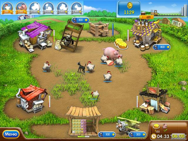 Игра Веселая ферма 2 Бизнес