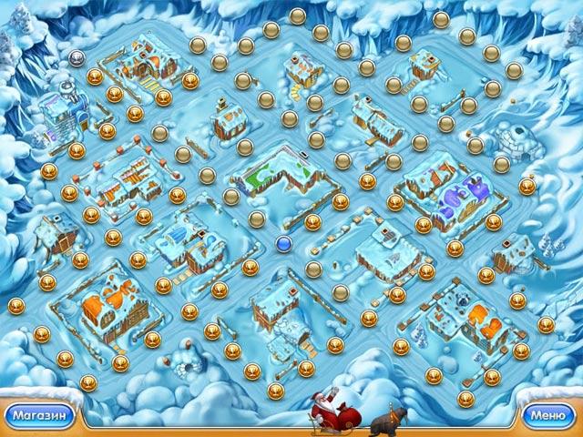 Фрагмент игры Веселая ферма 3. Ледниковый период