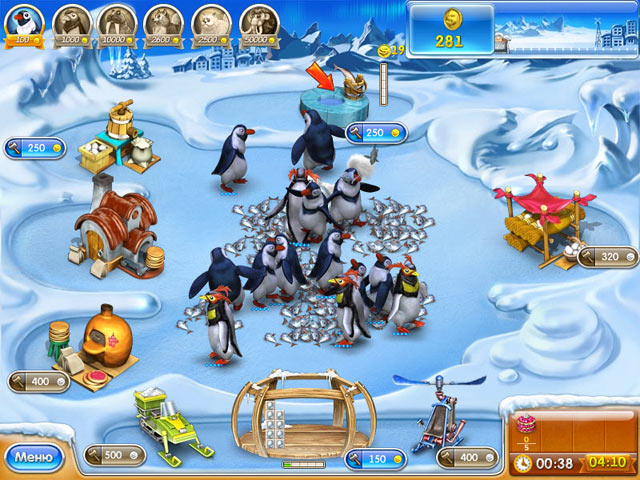 Игра Веселая ферма 3. Ледниковый период Бизнес