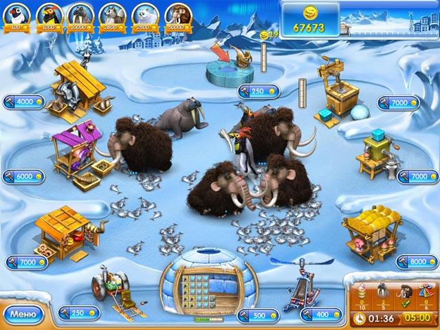 Игра Веселая ферма 3. Ледниковый период