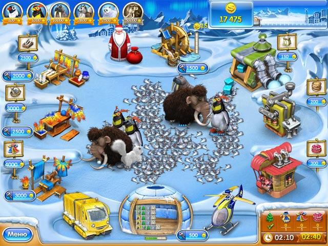 Изображение из игры Веселая ферма 3. Ледниковый период