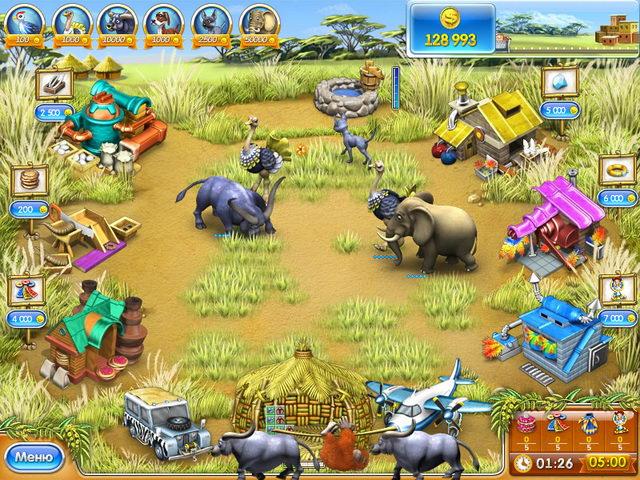Бизнес игра Веселая ферма 3. Мадагаскар