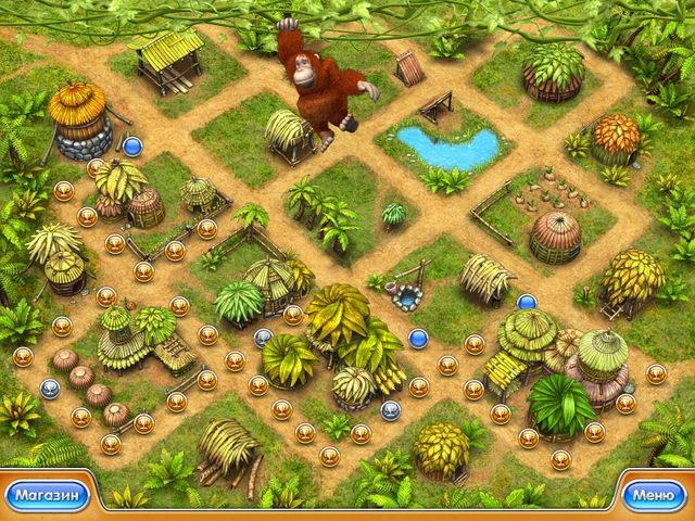 Фрагмент игры Веселая ферма 3. Мадагаскар