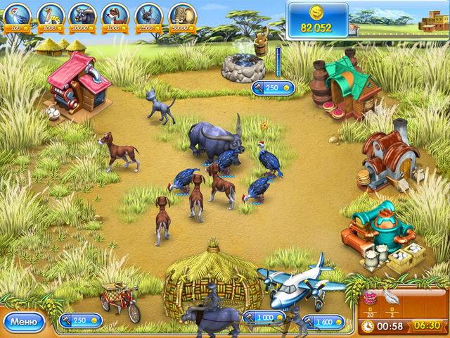 Игра Веселая ферма 3. Мадагаскар Бизнес
