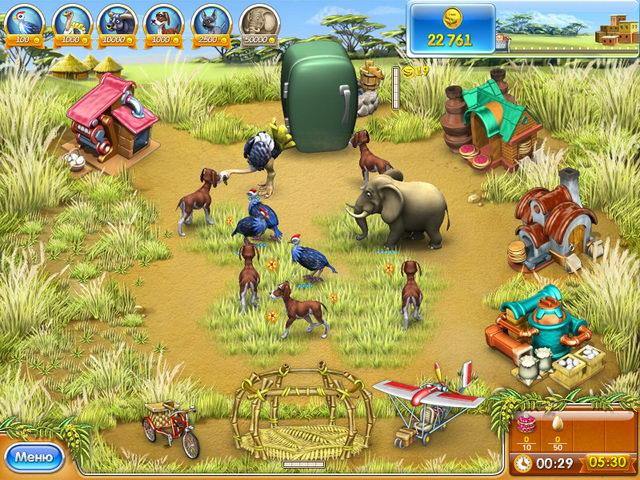 Изображение из игры Веселая ферма 3. Мадагаскар