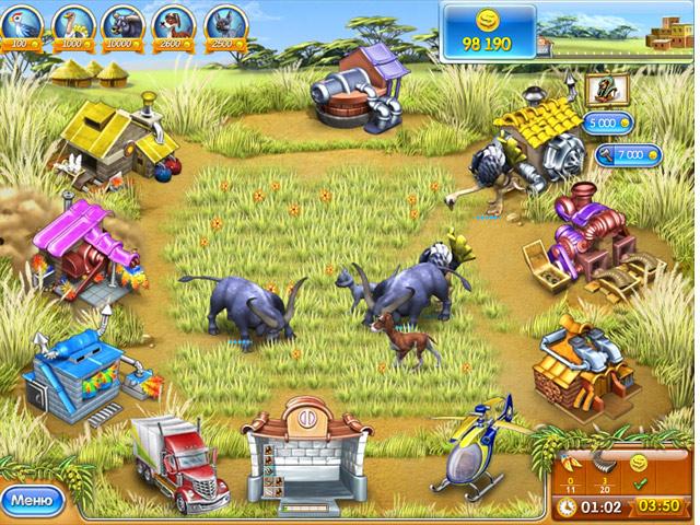 Фрагмент игры Веселая ферма 3