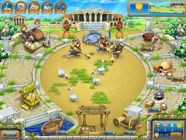 Бизнес игра Веселая ферма. Древний Рим.