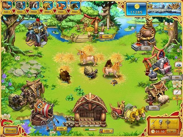 Изображение из игры Веселая ферма. Викинги