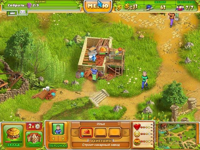 Фрагмент игры Фермеры 2