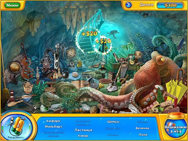 Игра Фишдом H2O. Подводная одиссея