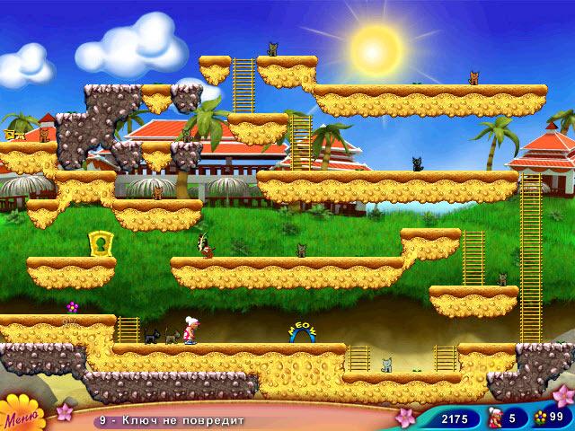 Фрагмент игры Бабуля на островах