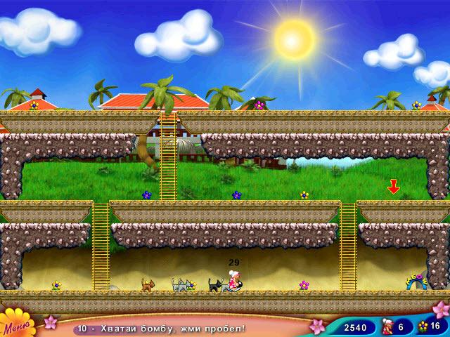 Изображение из игры Бабуля на островах