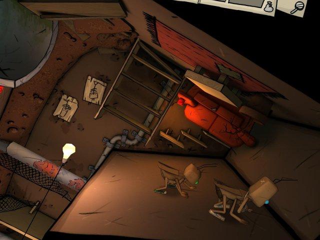 Фрагмент игры Путешествие таракана