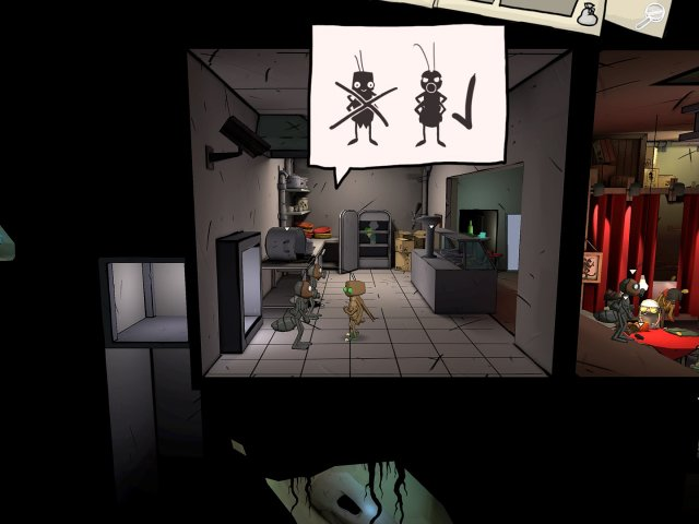 Игра Путешествие таракана