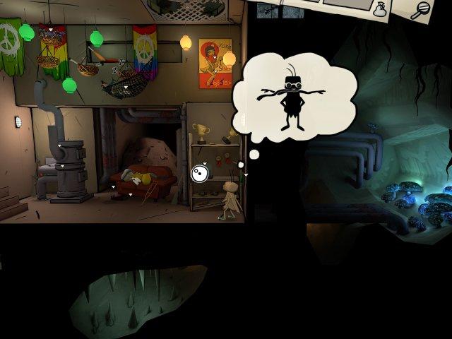 Изображение из игры Путешествие таракана