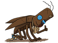 Скачать игру Путешествие таракана