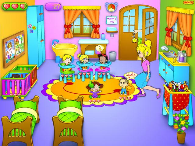 Фрагмент игры Детский садик
