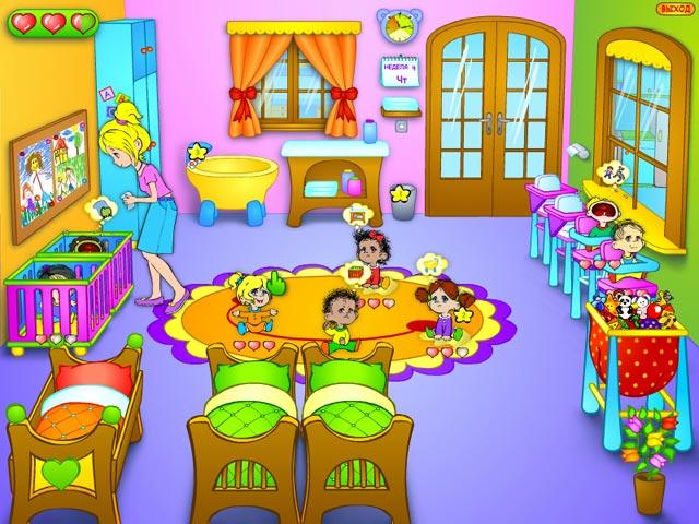 Игра Детский садик Бизнес