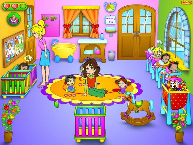 Изображение из игры Детский садик