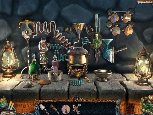 Игра Затерянные земли Четыре всадника Коллекционное издание Поиск предметов