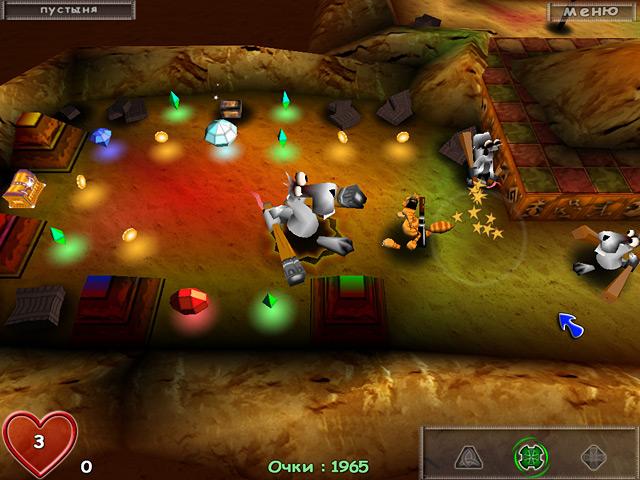 Фрагмент игры Магический лабиринт