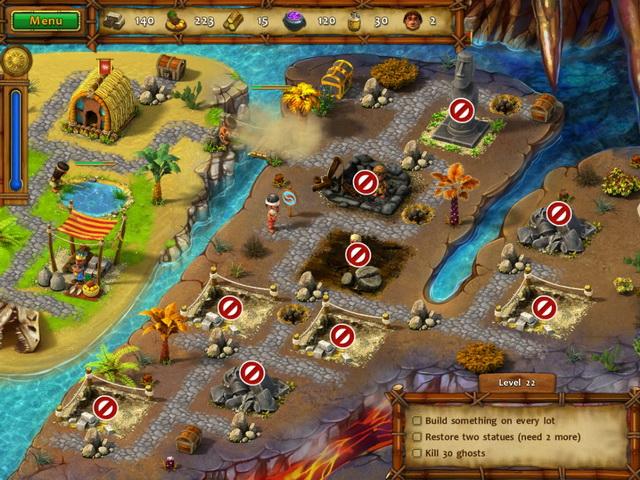 Игра Моаи 2 Дорога в царство мёртвых