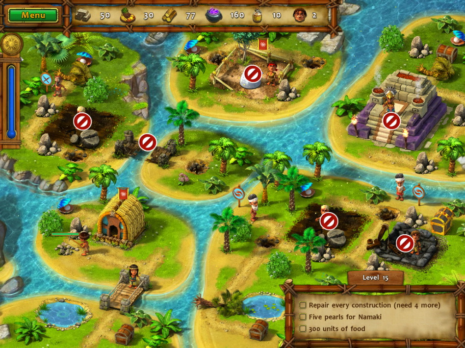 Изображение из игры Моаи 2 Дорога в царство мёртвых