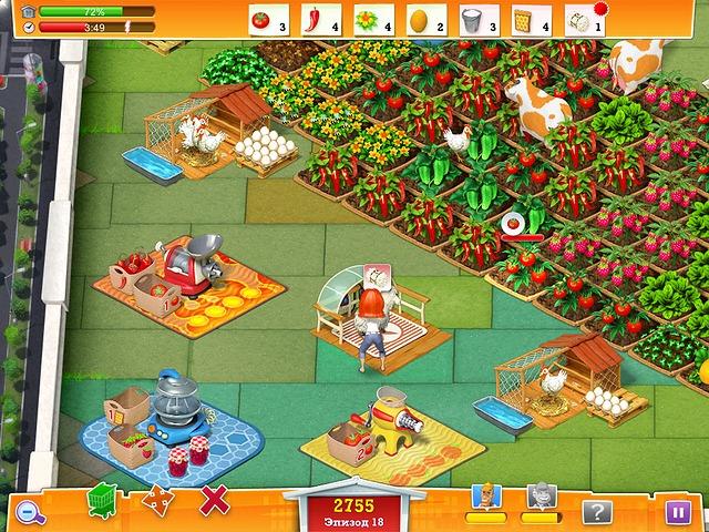 Фрагмент игры Реальная ферма 2