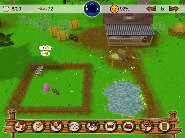 Фрагмент игры Моя ферма