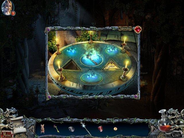 Поиск предметов игра Тайны и кошмары. Моргиана