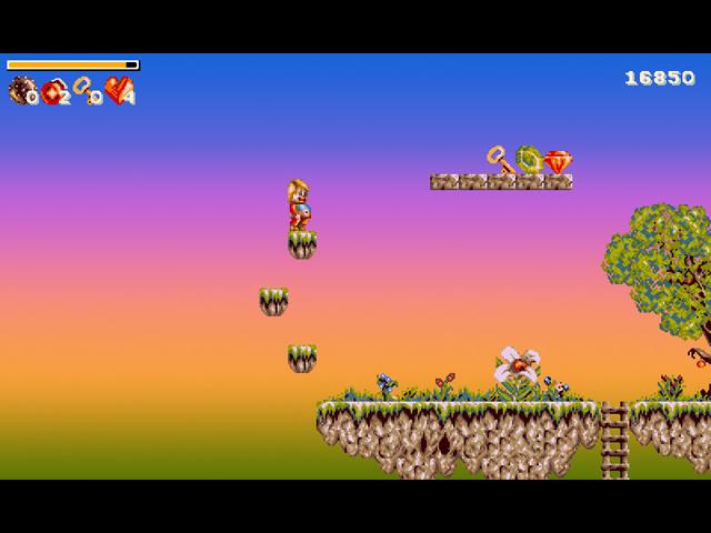 Фрагмент игры Невероятные приключения Ники