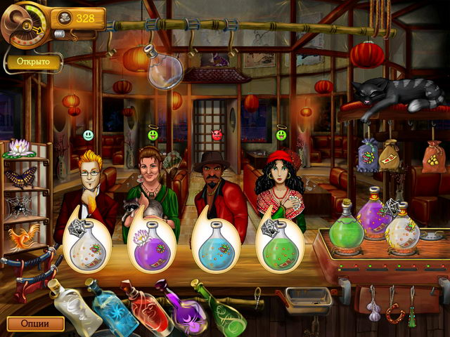 Изображение из игры Призрачный бар