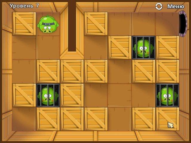 Игра Четыре поросенка и коробка