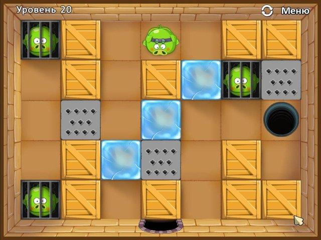 Изображение из игры Четыре поросенка и коробка
