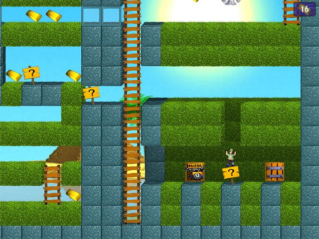 Фрагмент игры Тайны пирамид
